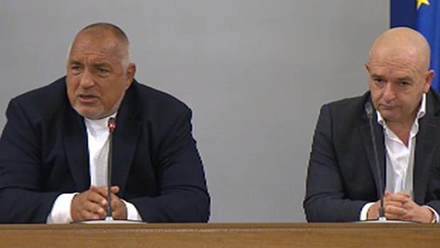Борисов: Мутафчийски ми е приятел от 20 г., какво напрежение