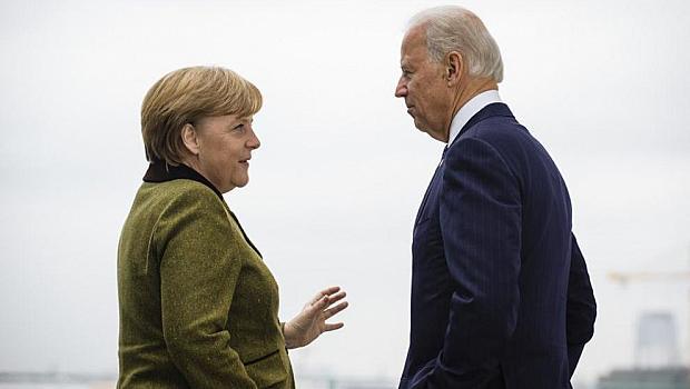 Байдън приема Меркел в Белия дом