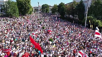 Отново многохиляден митинг в Беларус