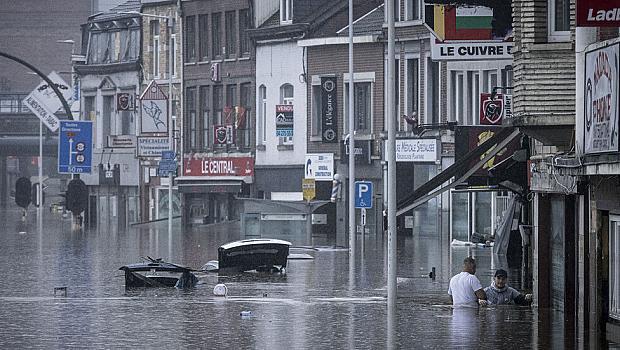 Какво причини потопите в Германия и Белгия