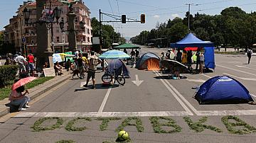 22 дни протести и блокада на София
