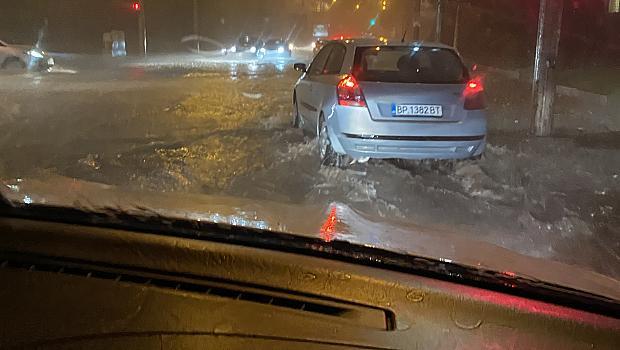 Силна буря в София
