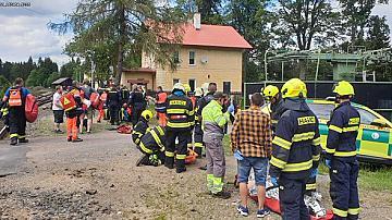 Трима загинали и десетки ранени във влакова катастрофа