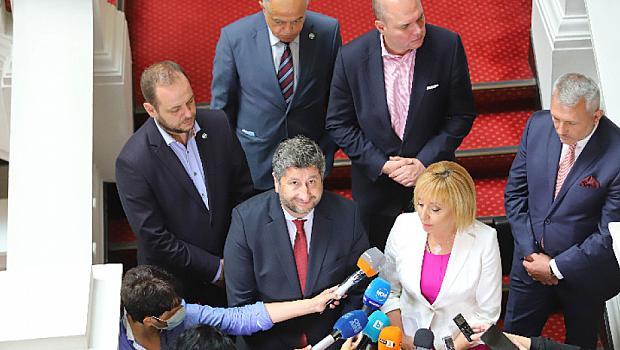 ДБ и Мая Манолова няма да подкрепят правителство на всяка цена