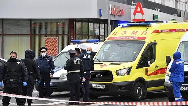 Нападател взе заложници в банка в Москва,но вече е задържан