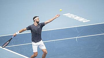 Григор Димитров отива на четвъртфинал във Виена