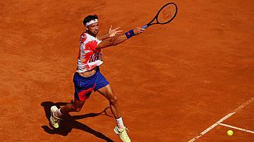 Григор Димитров играе трети  мач в Рим
