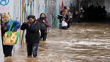 Извънредни мерки в Гърция заради дъжда