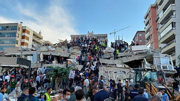 Силно земетресение в Егейско море, усетено и у нас