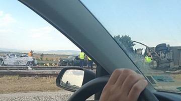 5 жертви в тежка катастрофа на магистрала Тракия
