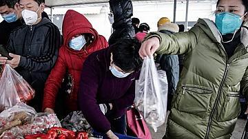 Китай унищожи тонове зеленчуци заради коронавируса