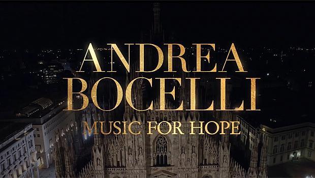 Рекорден брой зрители на виртуалния концерт  на Андреа  Бочели