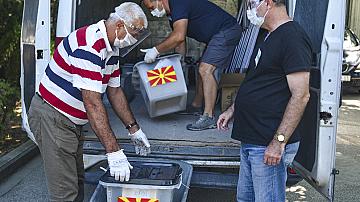 Решаващи избори в Македония