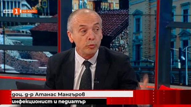 Доц. Мангъров: Поне 500 000 българи са прекарали COVID-19