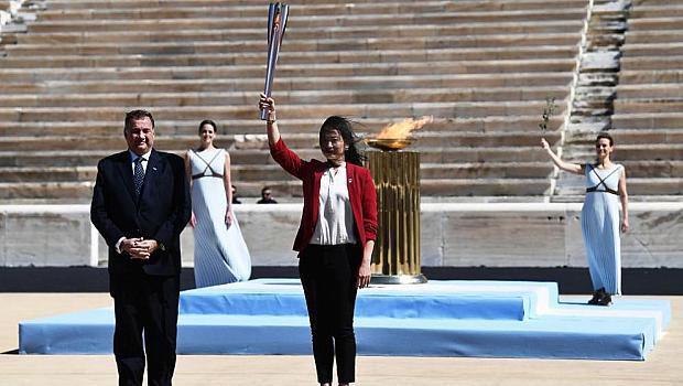 Олимпийският огън пристигна в Токио