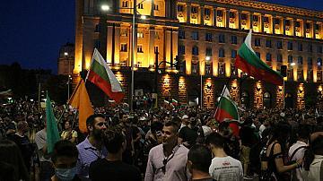 Седем часа продължи протестът в София