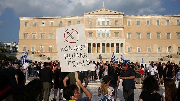 Гръцкият парламент прие закон за задължителна ваксинация