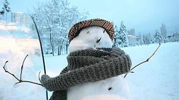 По-ниски температури и сняг