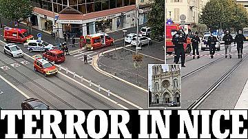 Терор в Ница : Жертви при атака с нож във Франция