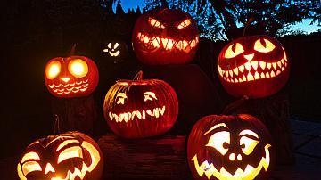 Хелоуин, Вси светии и тиквеният фенер