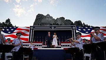 """Тръмп обяви нов""""парк на героите"""" на 4 юли"""