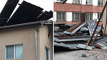 Ураган вилня във Враца, няма пострадали хора