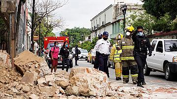 Земетресение от 7,4 по Рихтер разтърси Мексико